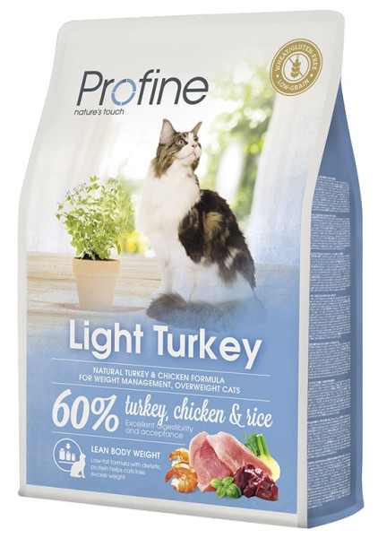 Profine kattenvoer Light Turkey 2 kg