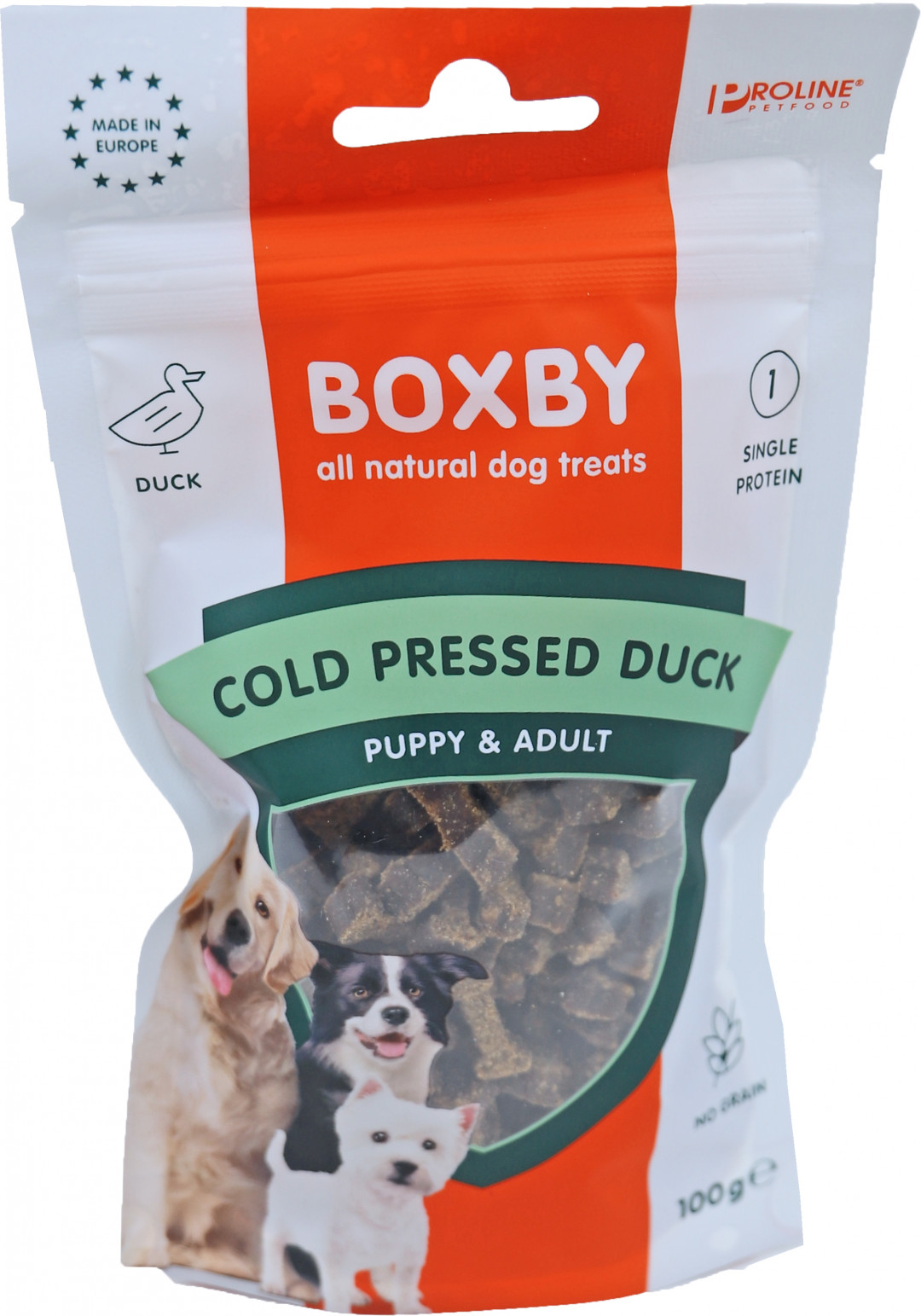 Proline Boxby Grain Free eend 100 gr