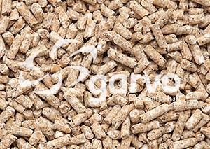 Garvo Ras Kuikenkorrel witte veren 20 kg