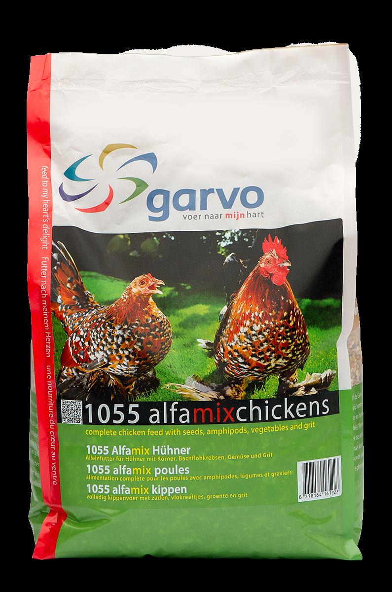Garvo Alfamix kippen <br>4 kg
