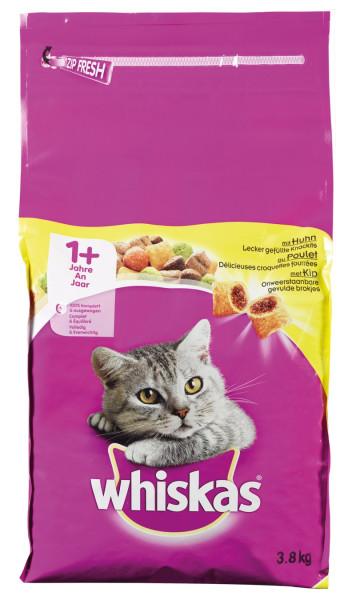 Whiskas kattenvoer Adult Kip 3,8 kg