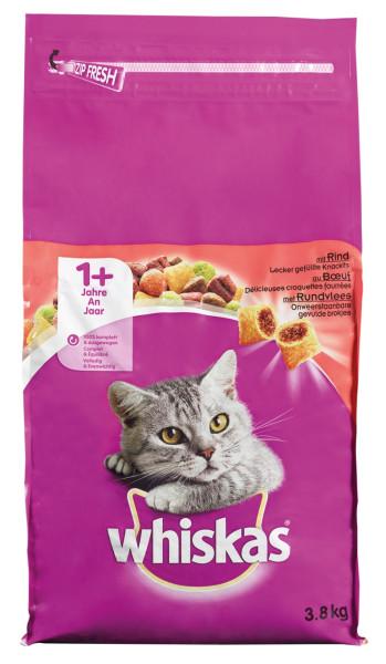 Whiskas kattenvoer Adult Rund 3,8 kg