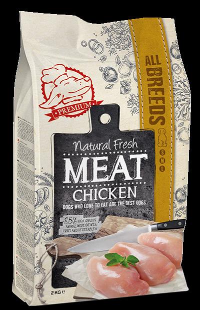 Natural Fresh MEAT hondenvoer Adult chicken 2 kg