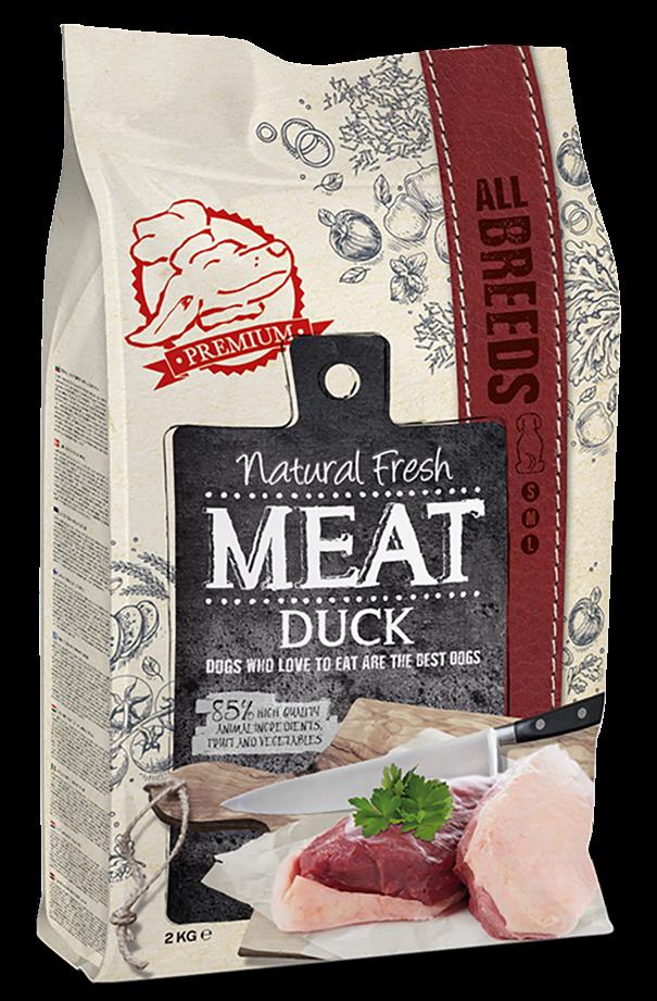 Natural Fresh MEAT hondenvoer Adult duck 12 kg
