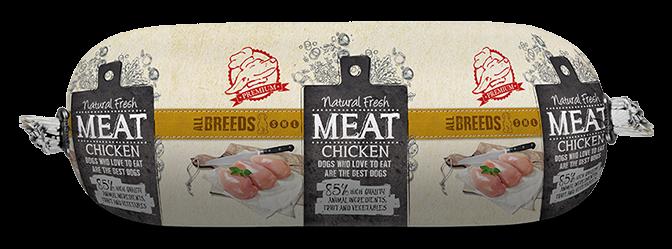 Natural Fresh MEAT hondenworst chicken 250 gr