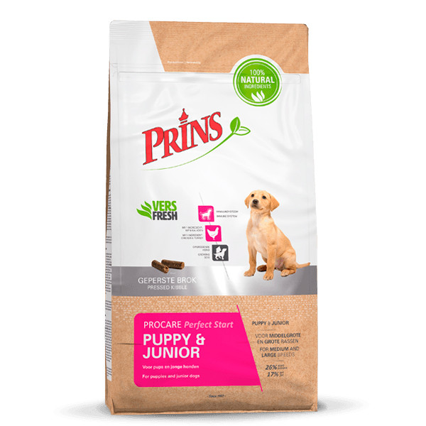 Prins hondenvoer ProCare Puppy & Junior Perfect Start 3 kg