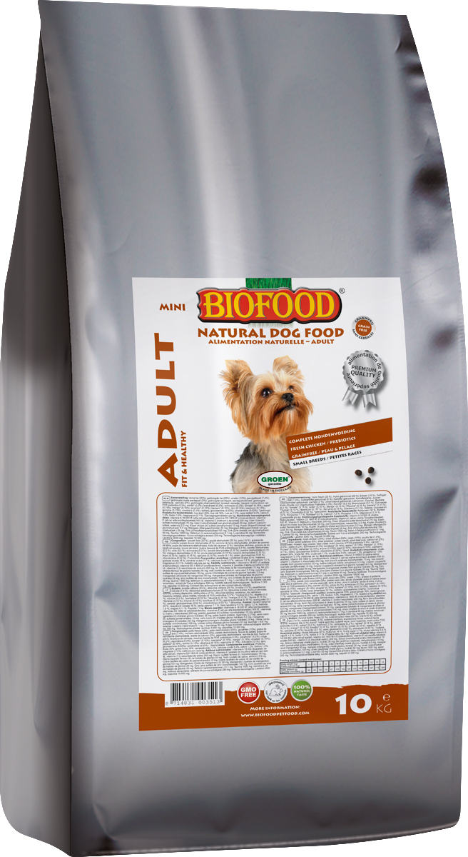 Biofood hondenvoer Adult small breed 10 kg