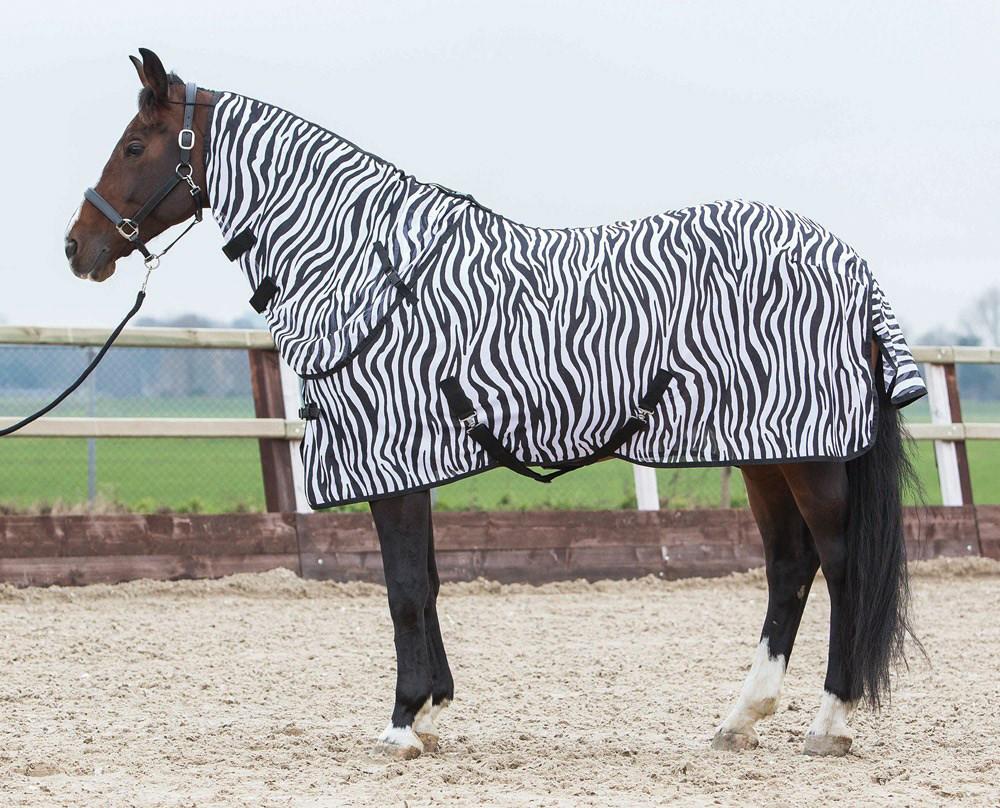 Harry's Horse vliegendeken + losse hals zebra
