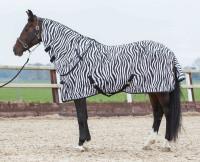 Harry's Horse vliegendeken + losse hals zebra thumb