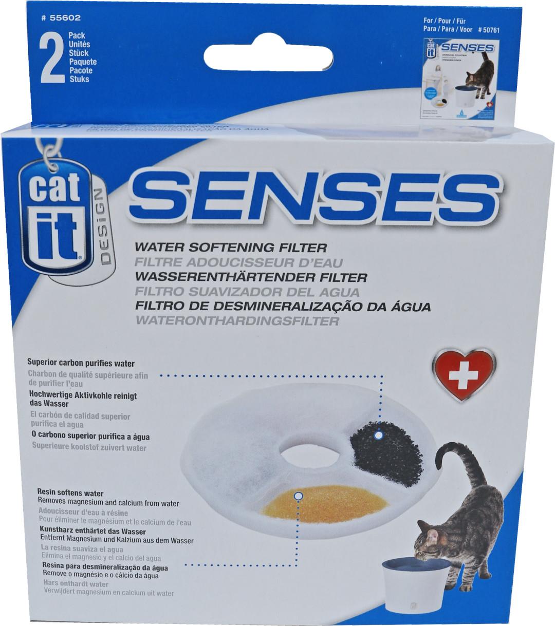 Catit Design Senses wateronthardingsfilter <br>2 st