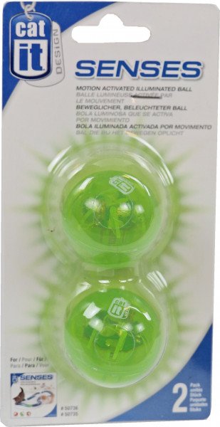 Catit Design Senses bal met licht 2 st