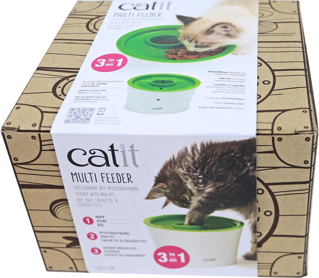 Catit Senses 2.0 voerbak Multi Feeder <br>3-in-1