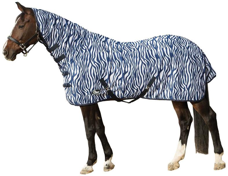 Harry's Horse vliegendeken met hals zebra