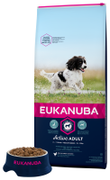 Eukanuba hondenvoer Active Adult Medium Breed 12 kg thumb