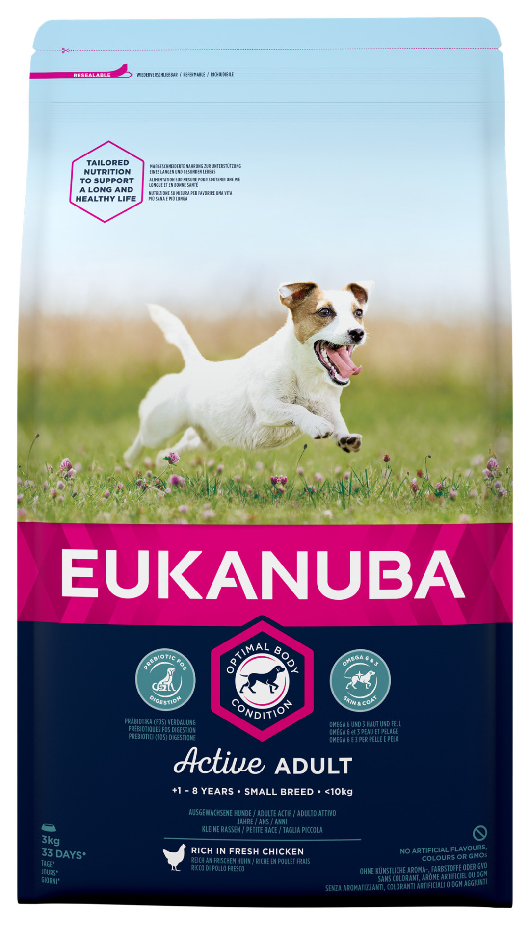 Eukanuba hondenvoer Active Adult Small Breed 3 kg