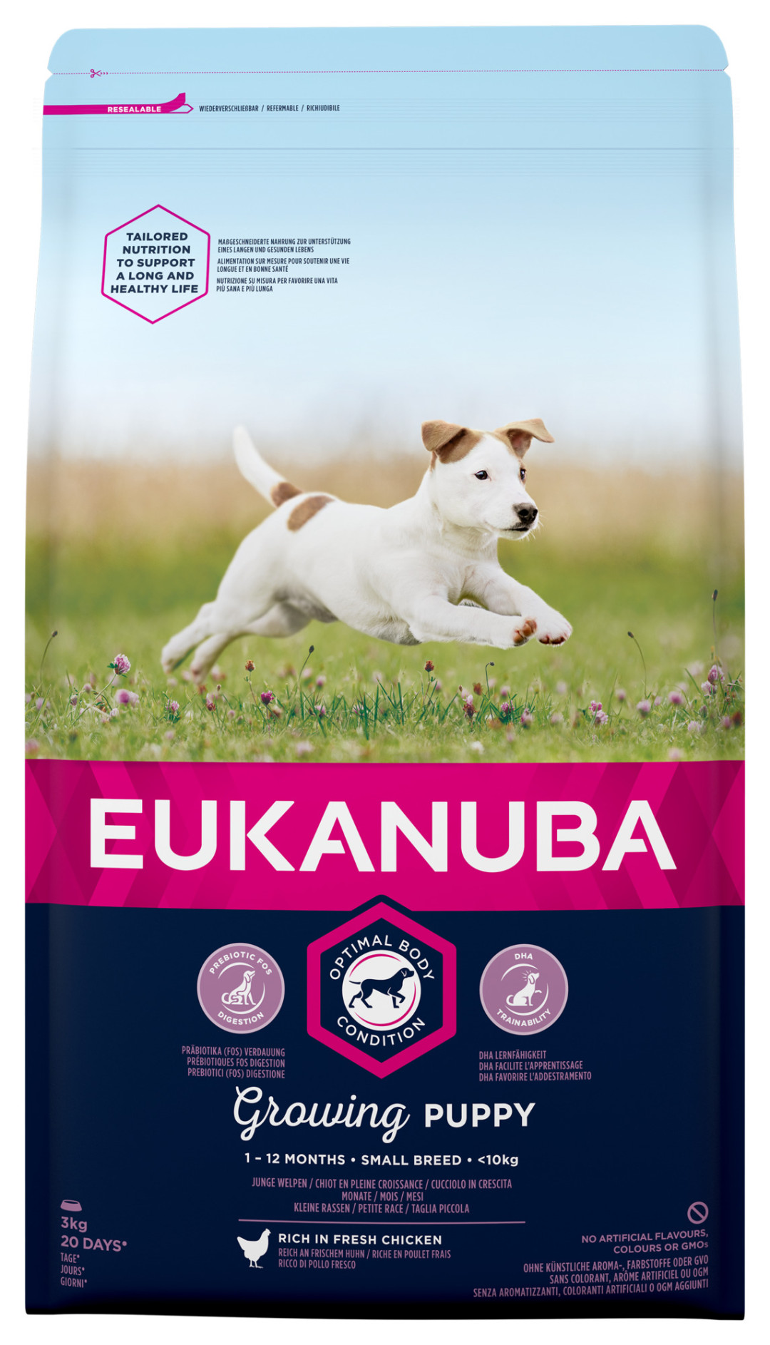 Eukanuba hondenvoer Growing Puppy Small Breed 3 kg