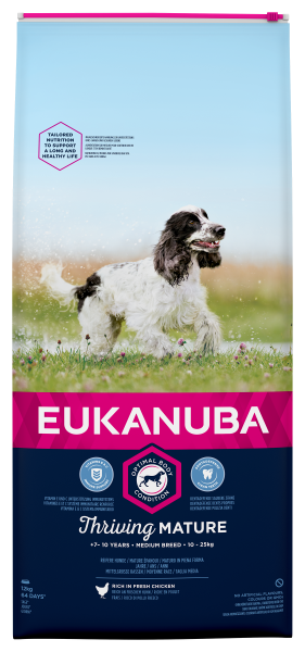 Eukanuba hondenvoer Thriving Mature Medium Breed 12 kg