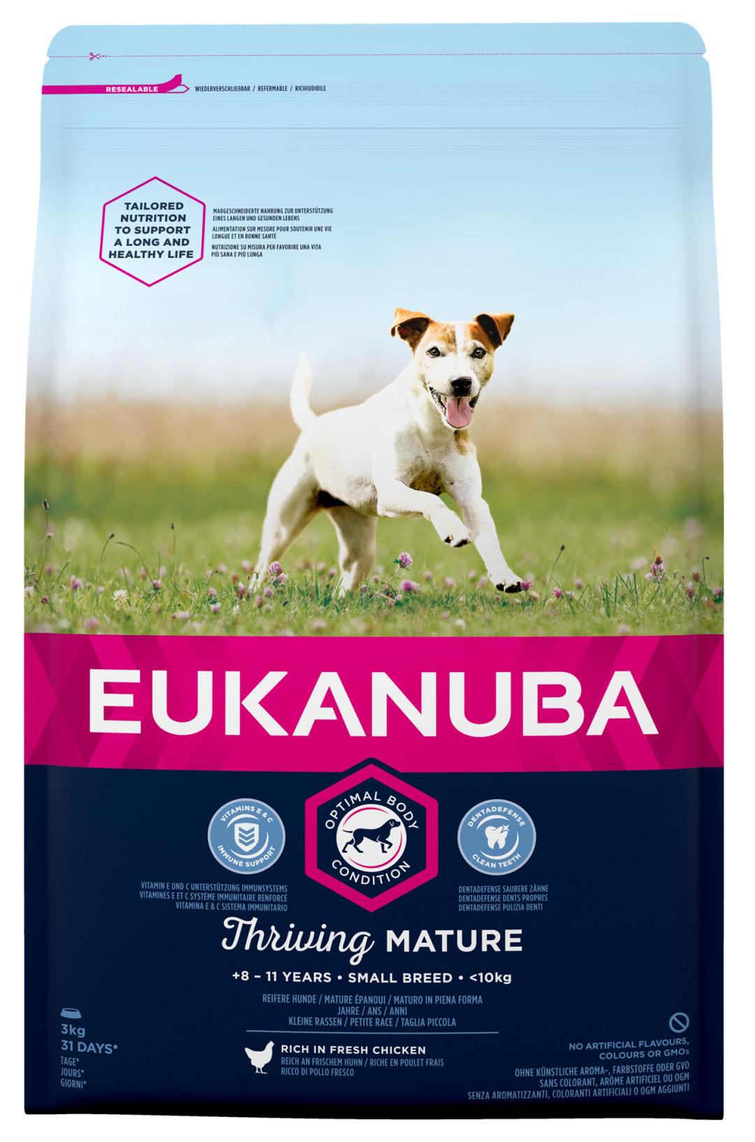 Eukanuba hondenvoer Thriving Mature Small Breed 3 kg