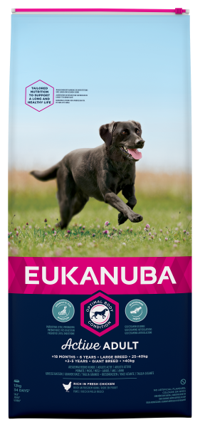 Eukanuba hondenvoer Active Adult Large Breed 12 kg