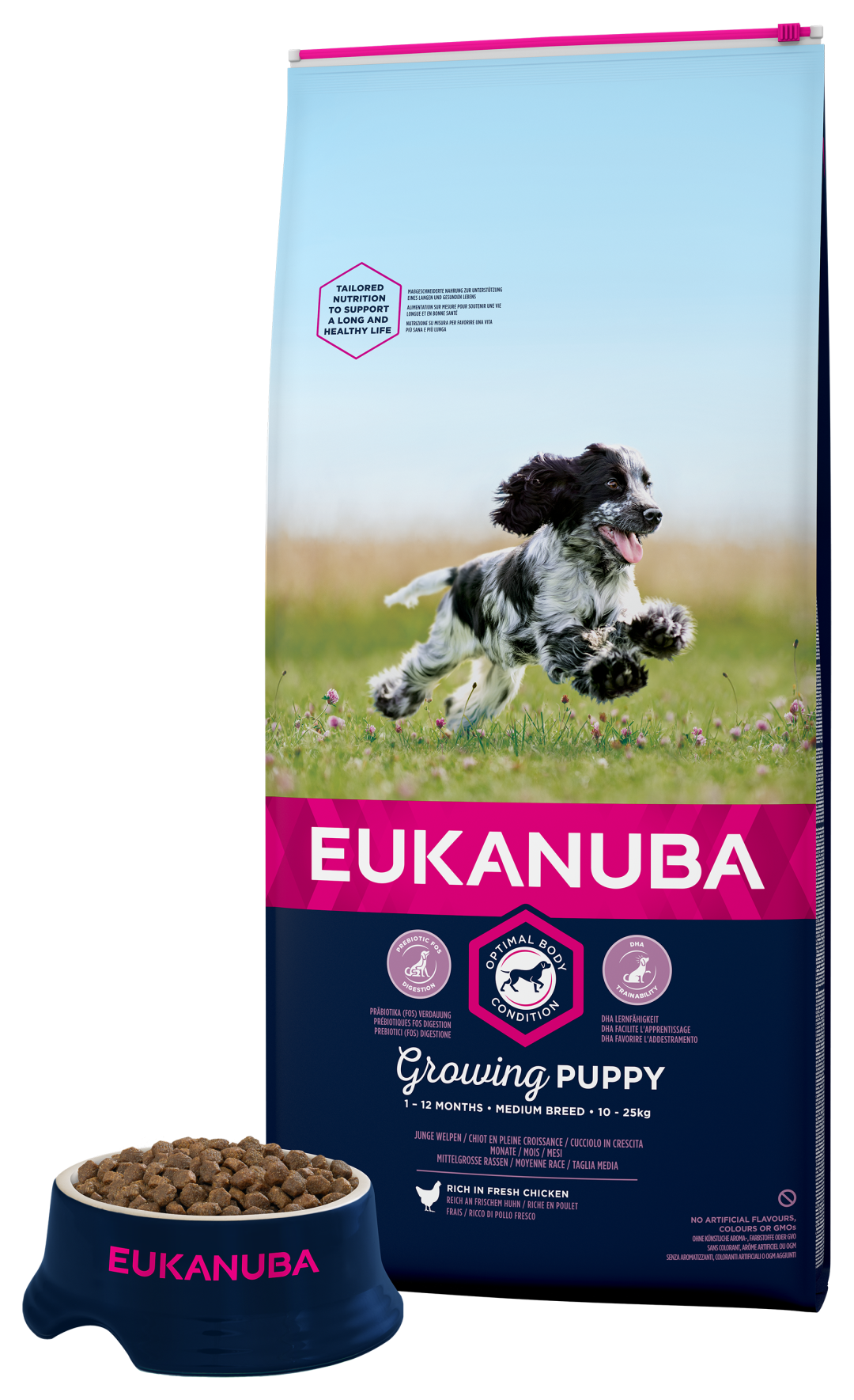 Eukanuba hondenvoer Growing Puppy Medium Breed 12 kg