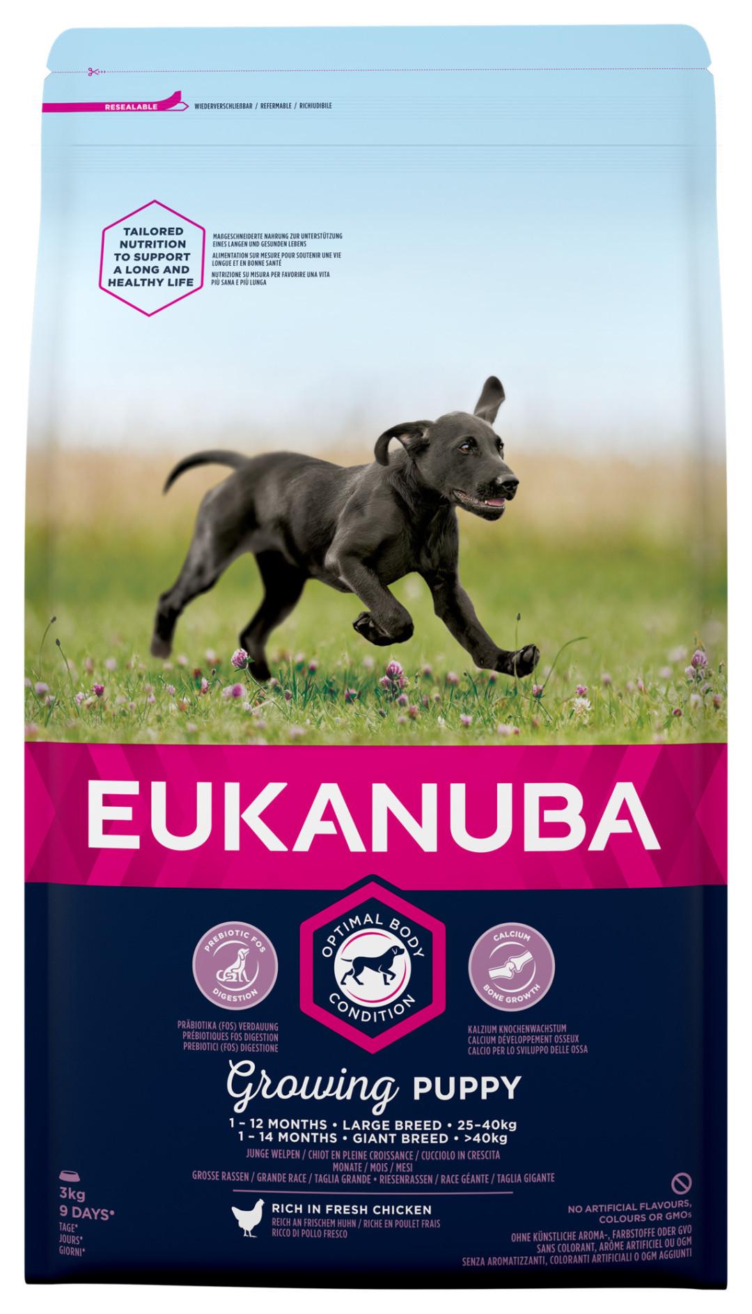 Eukanuba hondenvoer Growing Puppy Large Breed 3 kg