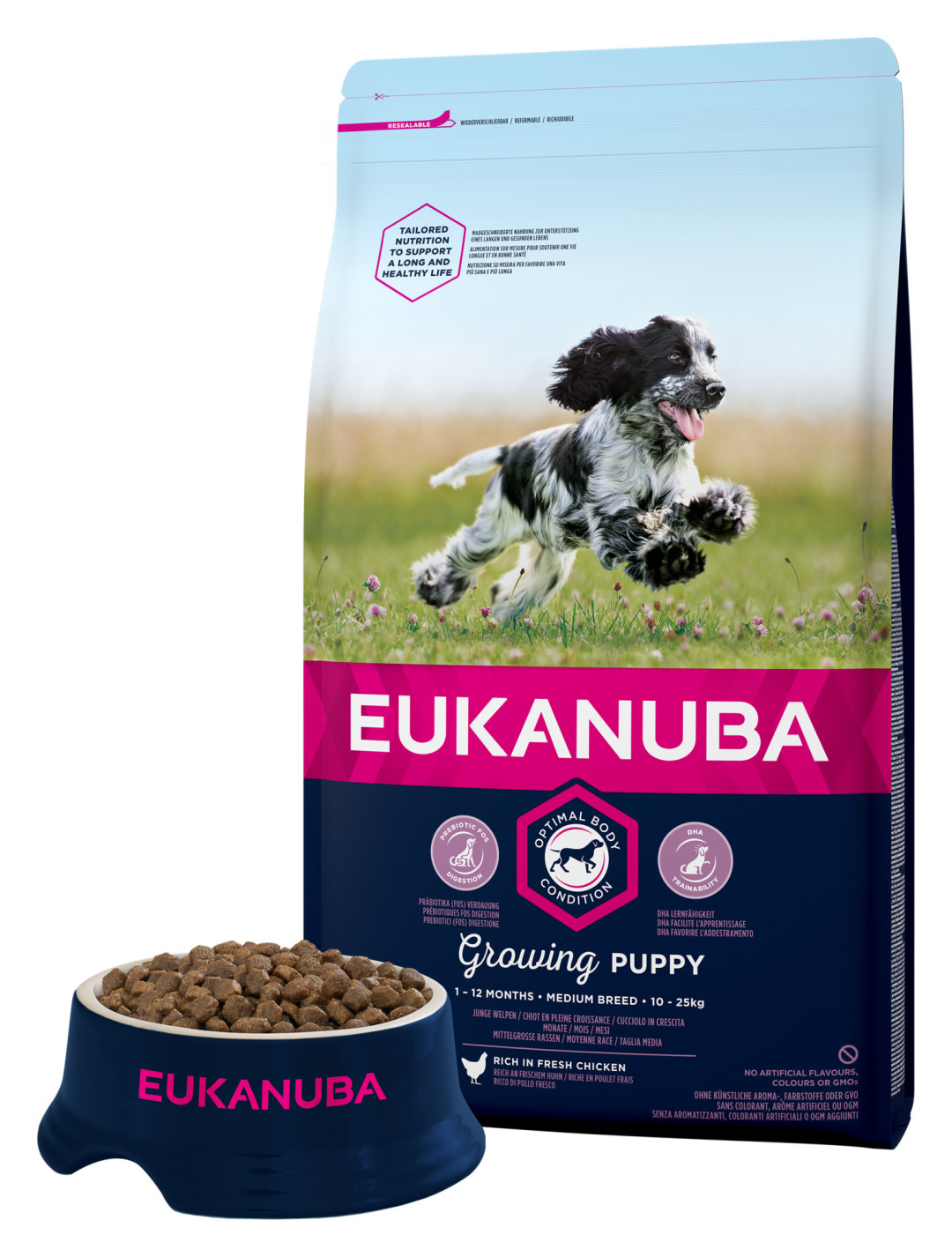 Eukanuba hondenvoer Growing Puppy Medium Breed 3 kg