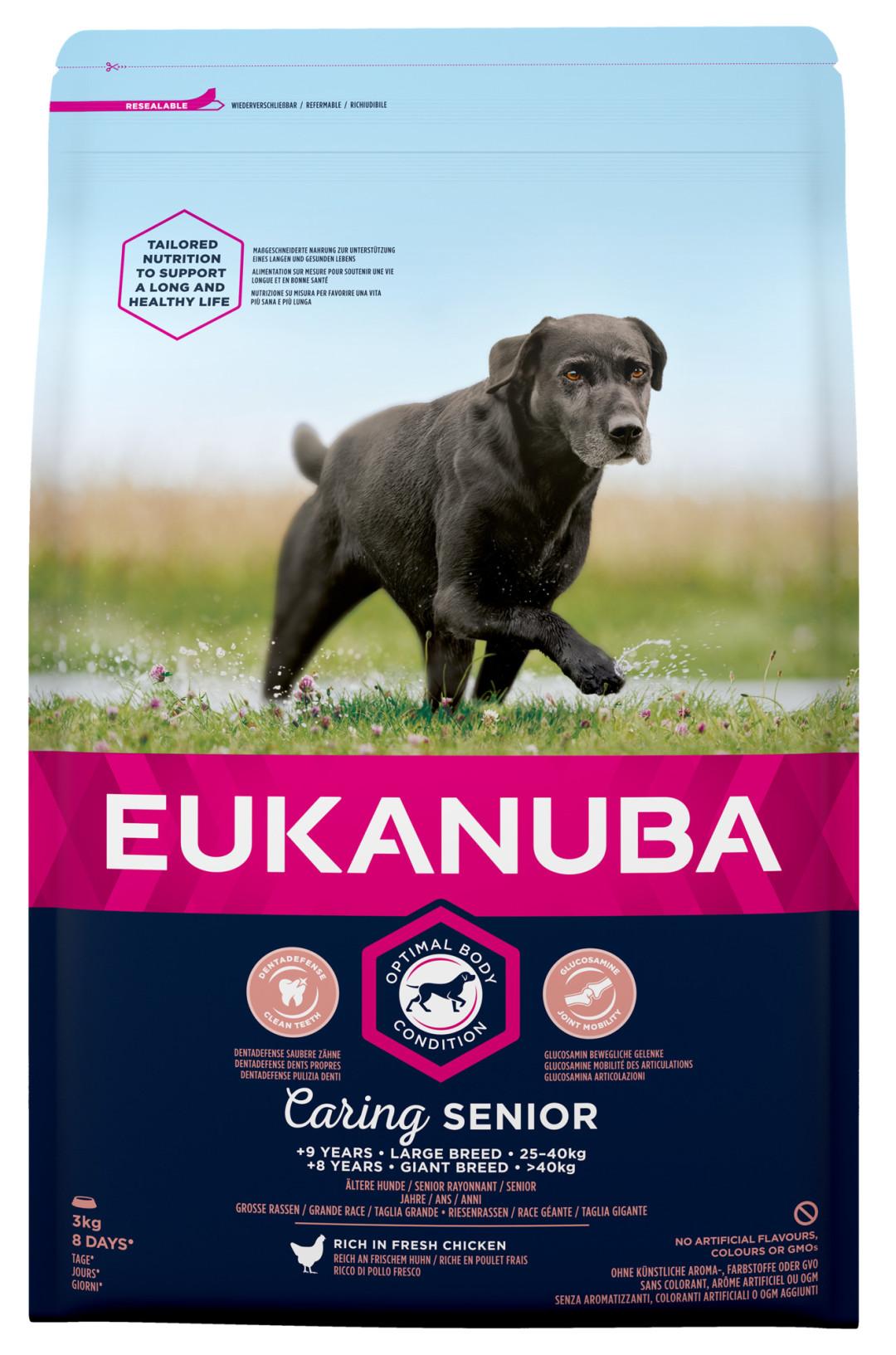 Eukanuba hondenvoer Caring Senior Large Breed 3 kg