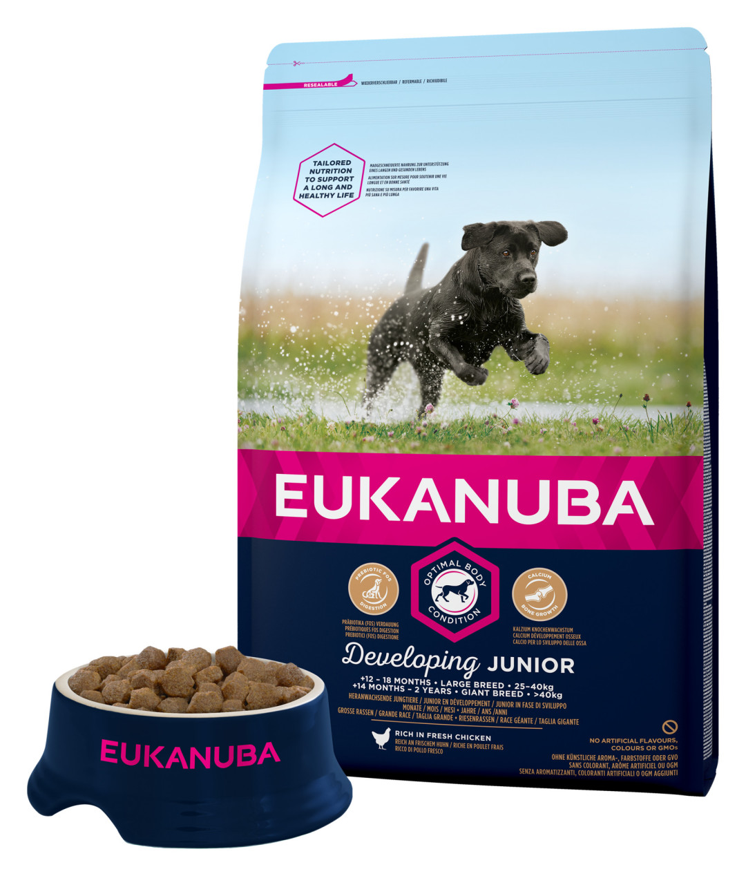 Eukanuba hondenvoer Developing Junior Large Breed 3 kg