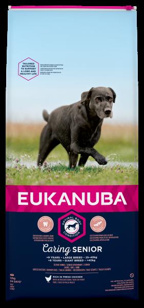 Eukanuba hondenvoer Caring Senior Large Breed 12 kg