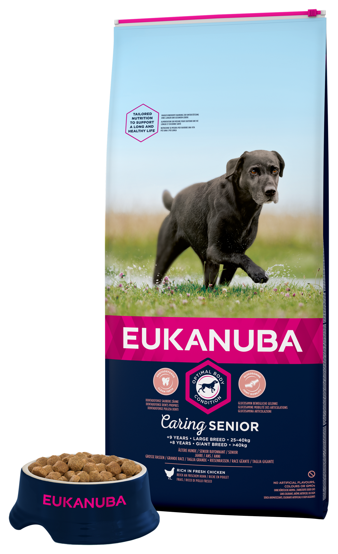 Eukanuba hondenvoer Caring Senior Large Breed 12 kg
