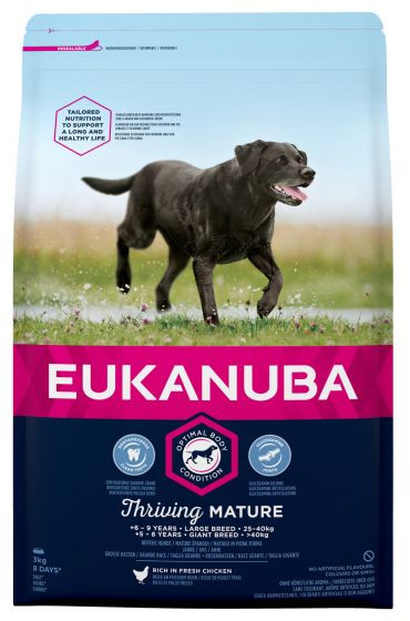 Eukanuba hondenvoer Thriving Mature Large Breed 12 kg