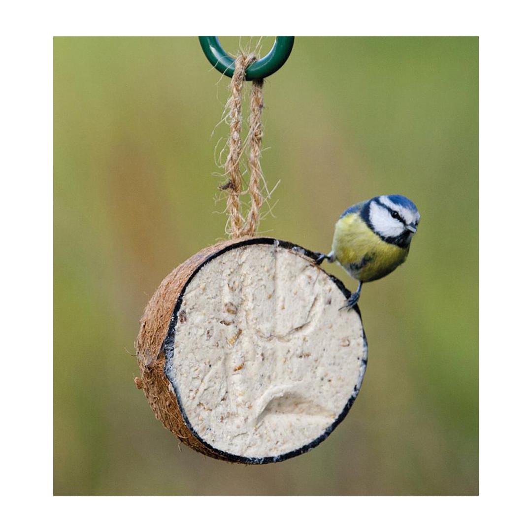 Vogelbescherming Nederland gevulde halve kokosnoot 265 gr