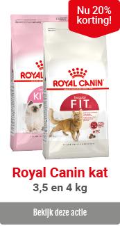 1. Royal Canin 20% korting