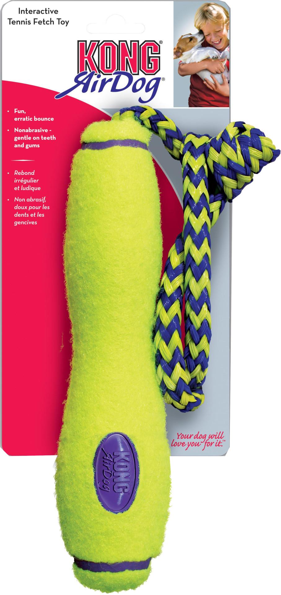 Kong AirDog Fetch stick met touw