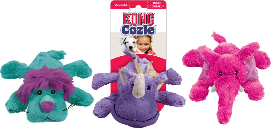 Kong Cozie Brights assorti