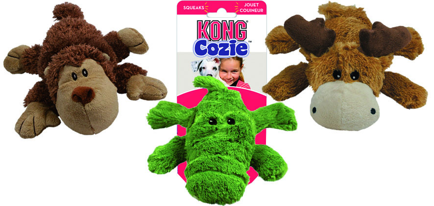 Kong Cozie Naturals assorti S