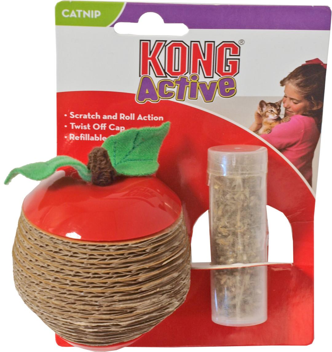 Kong Scratch Catnip apple