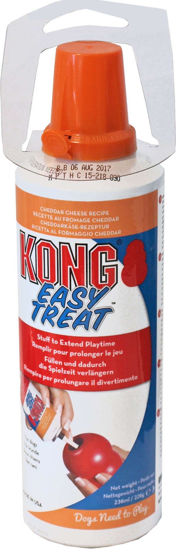 Kong spuitbus Easy Treat cheddar cheese