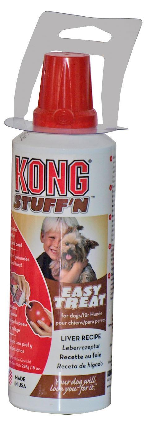 Kong spuitbus Stuff'n Easy Treat liver