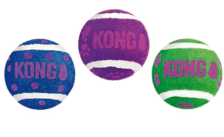 Kong Cat Tennis balls met bells