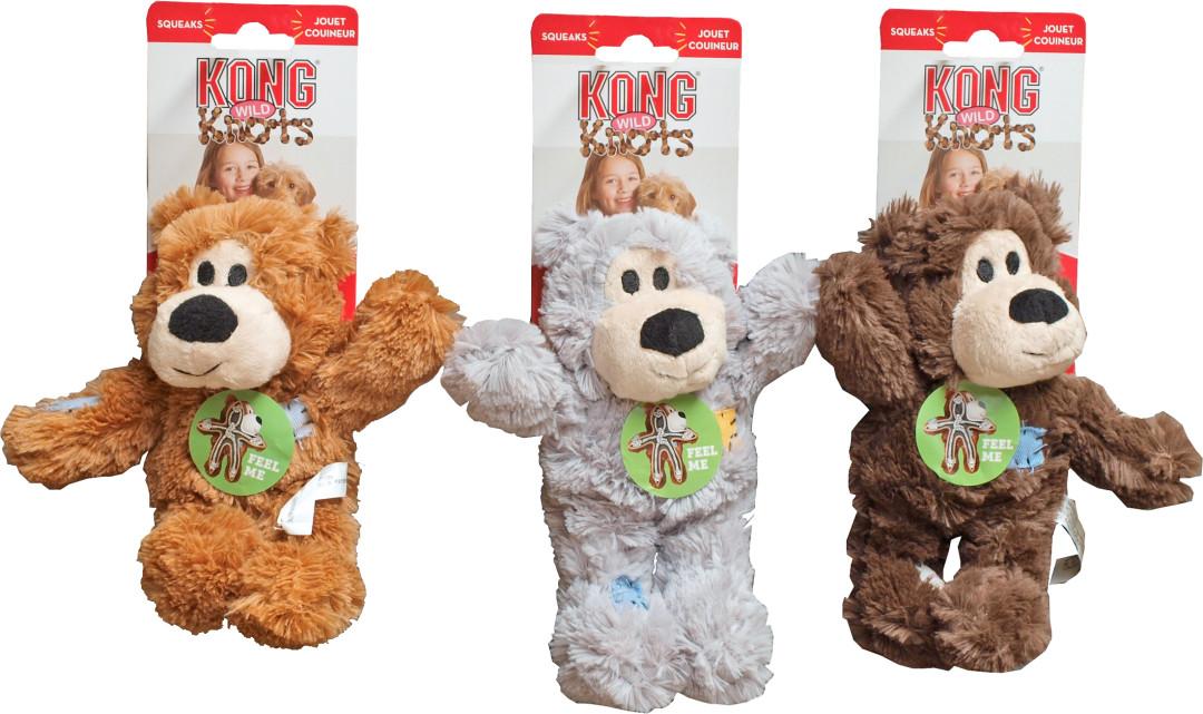 Kong Wild Knots bears assorti