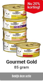Gourmet Gold 20% korting