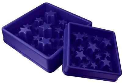 Eat Slow Live Longer voerbak Star blue