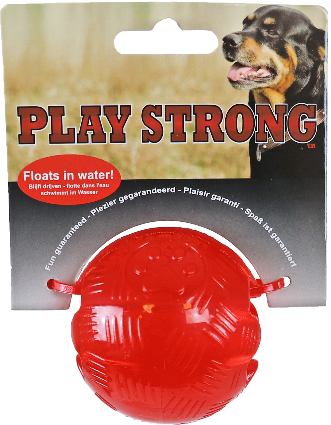 Play Strong bal rood