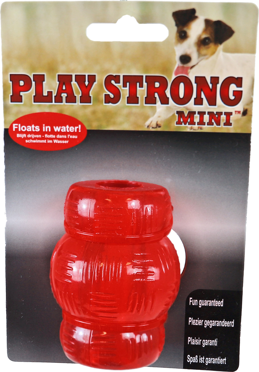 Play Strong Mini chew <br>7 cm rood
