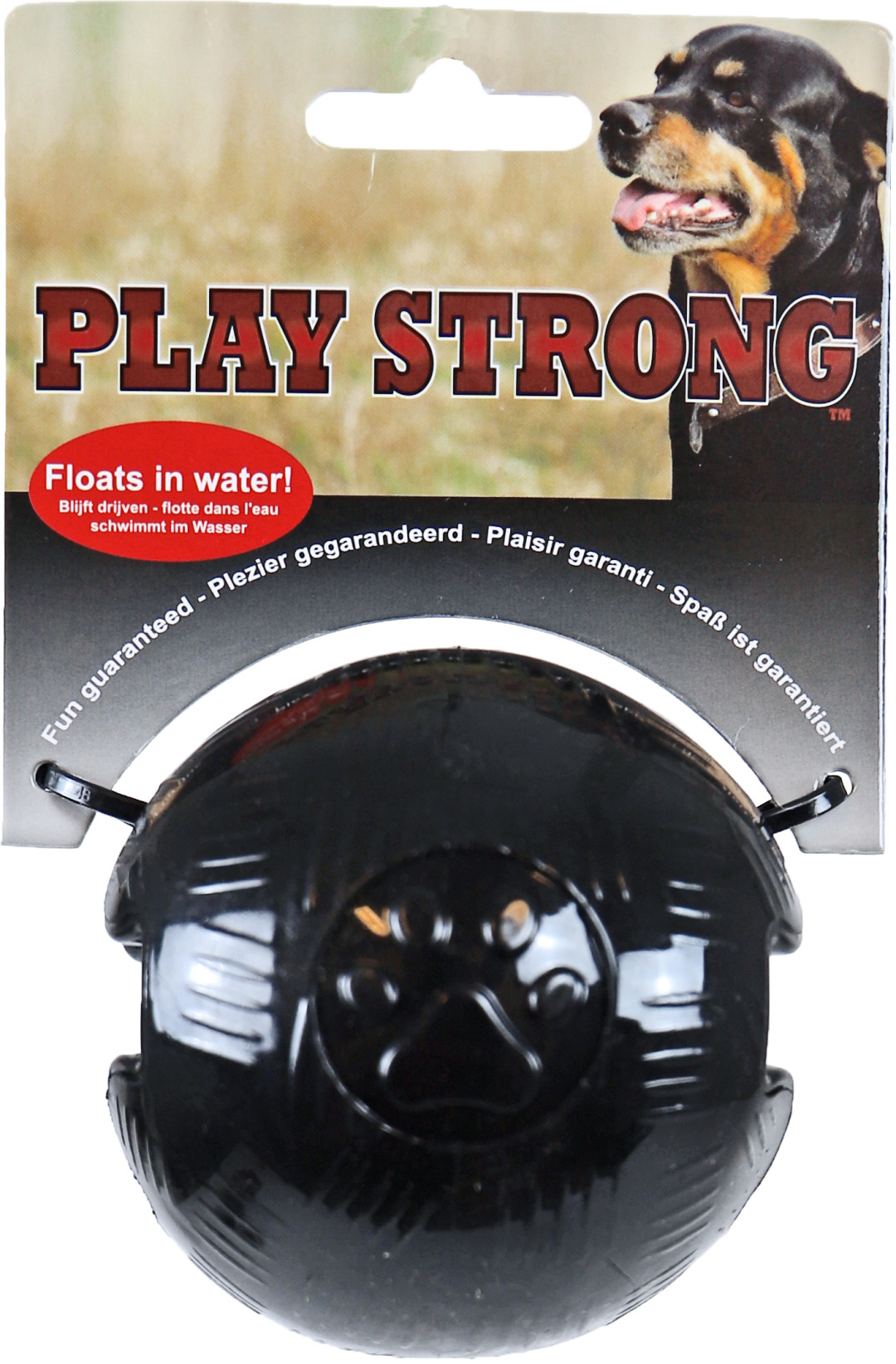 Play Strong bal zwart