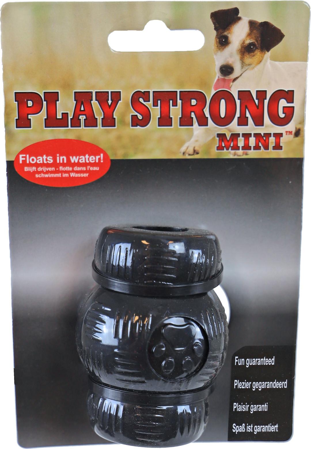 Play Strong Mini chew <br>7 cm zwart