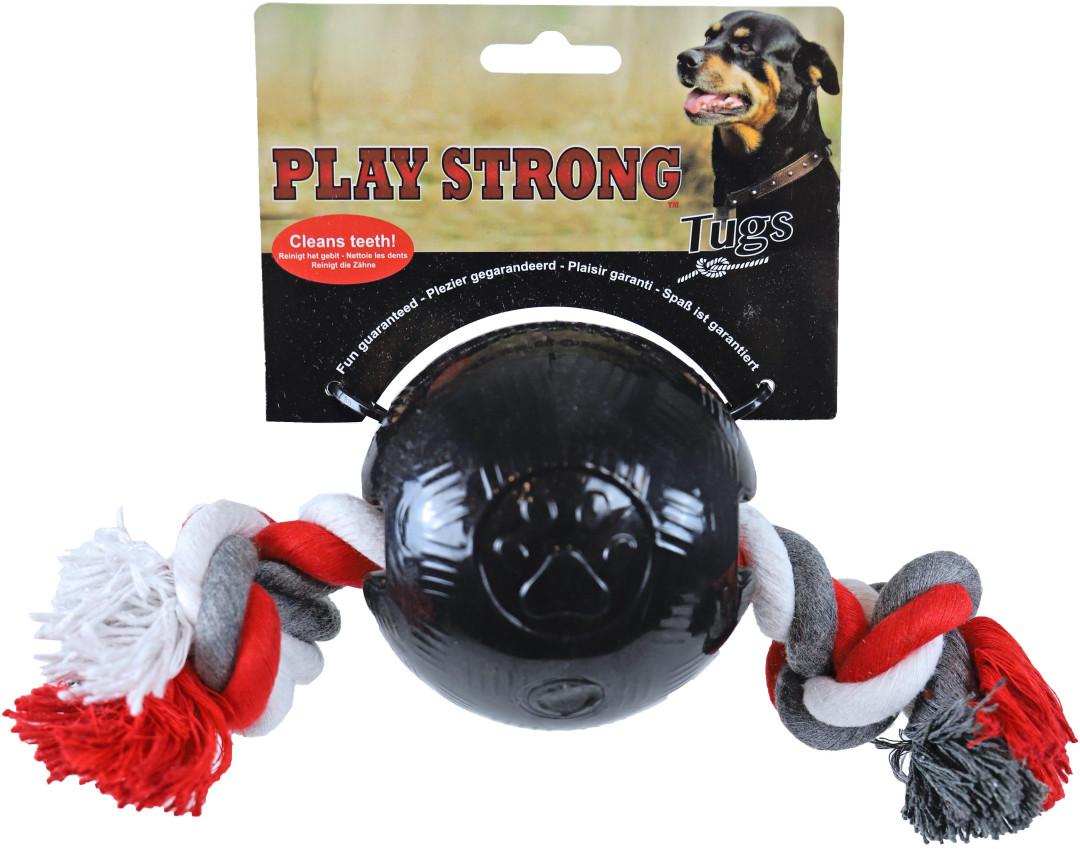 Play Strong bal met floss zwart