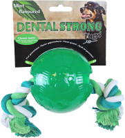 Dental Strong bal met floss groen thumb