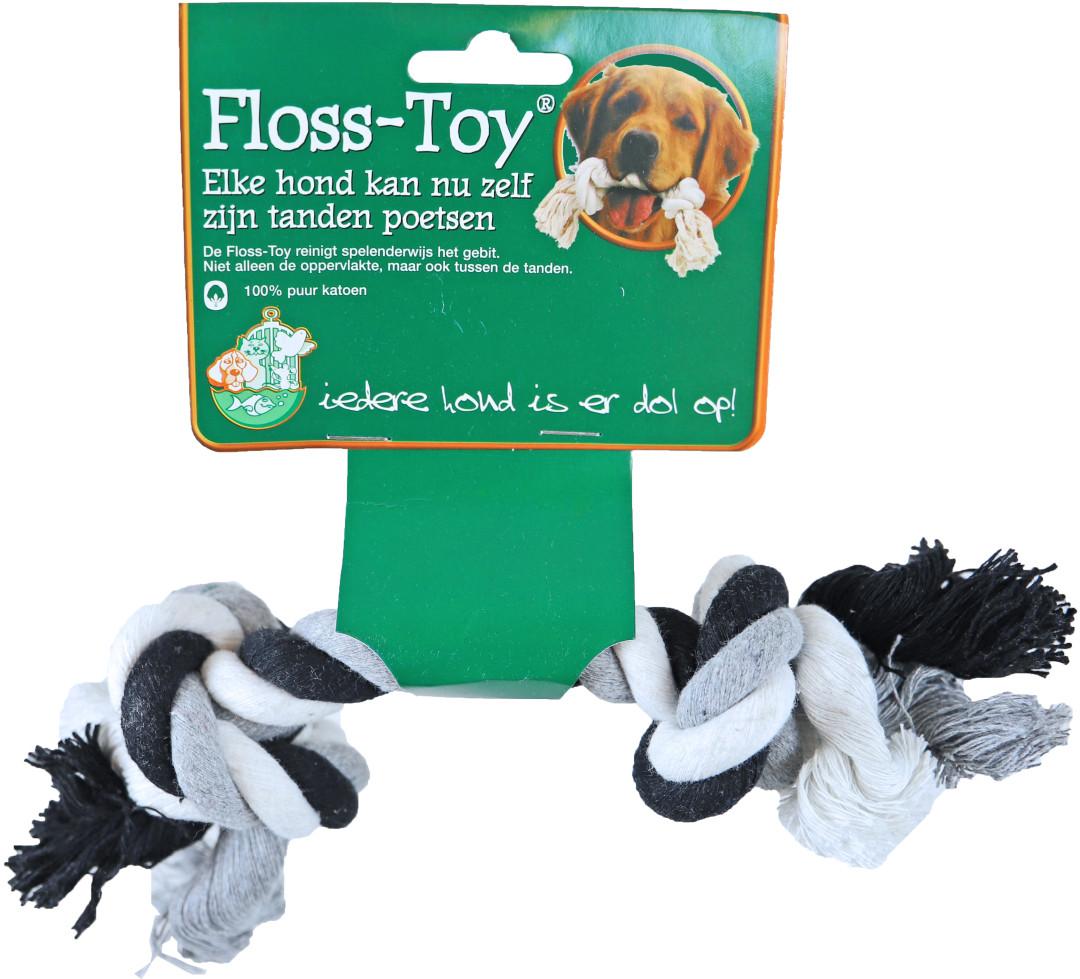 Boon Floss-Toy Small zwart/wit
